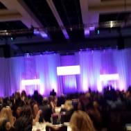 At the beauty expo surrounded by empowered and empowering women and men!